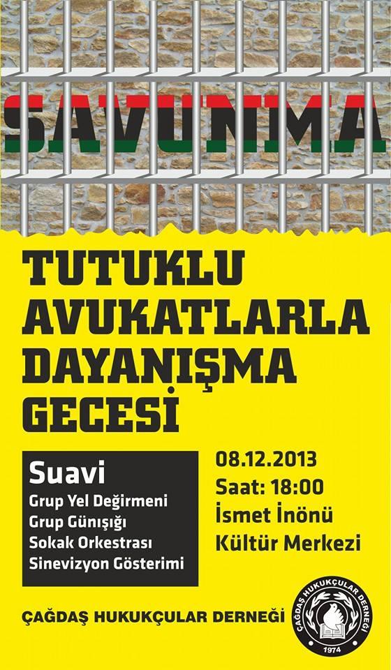 Sokak Orkestrası Tutuklu Avukatlar
